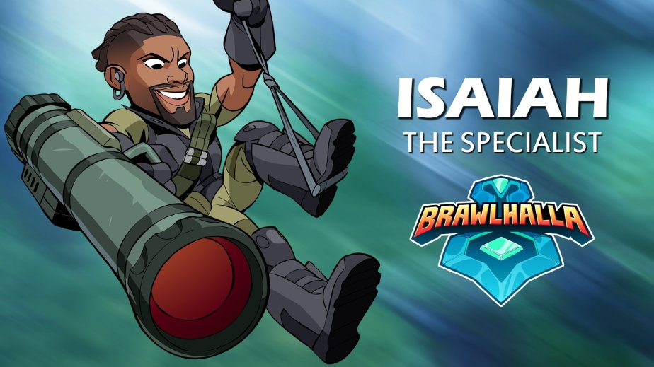News | Isaiah The Specialist Comes To Brawlhalla!
