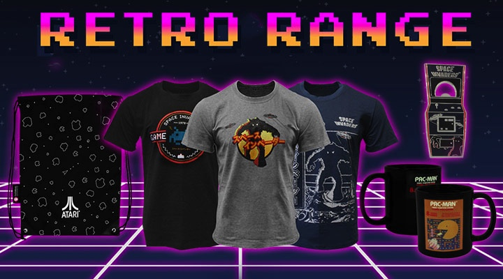 News | Retro-inspired New Merchandise Range Coming From Numskull Designs