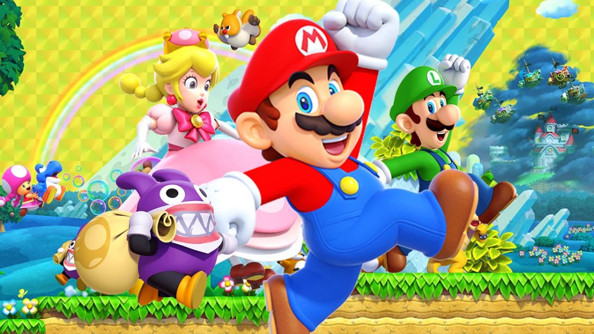 Review New Super Mario Bros U Deluxe Nsw Reu The Gamer