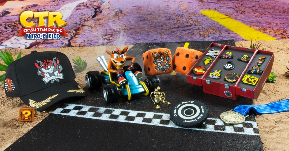 New Crash Team Racing Merch Range Incoming From Numskull Designs